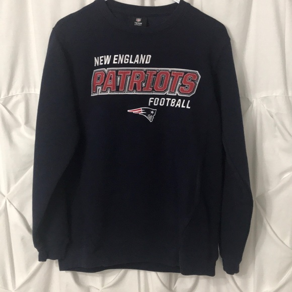 buy online 83887 895dc Youth New England Patriots embroidered sweatshirt